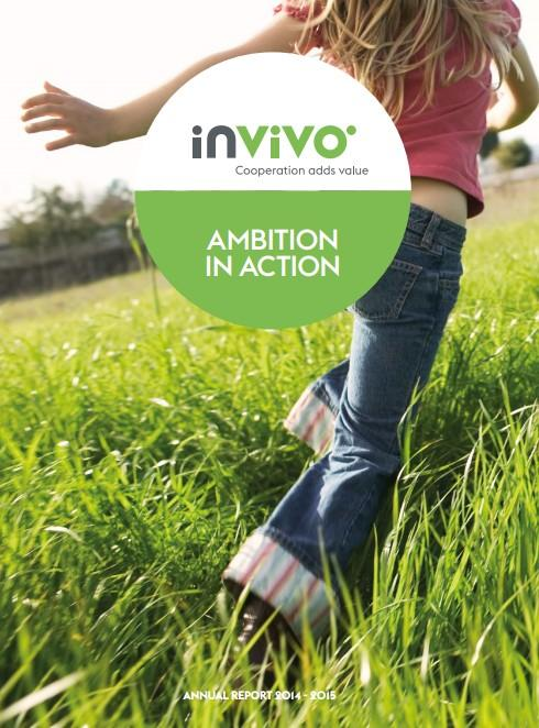 InVivo annual report cover